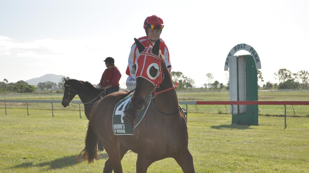 Authadane – the horse that was meant to be racing in Rockhampton.