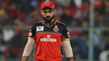 Kohli was the first to fall.