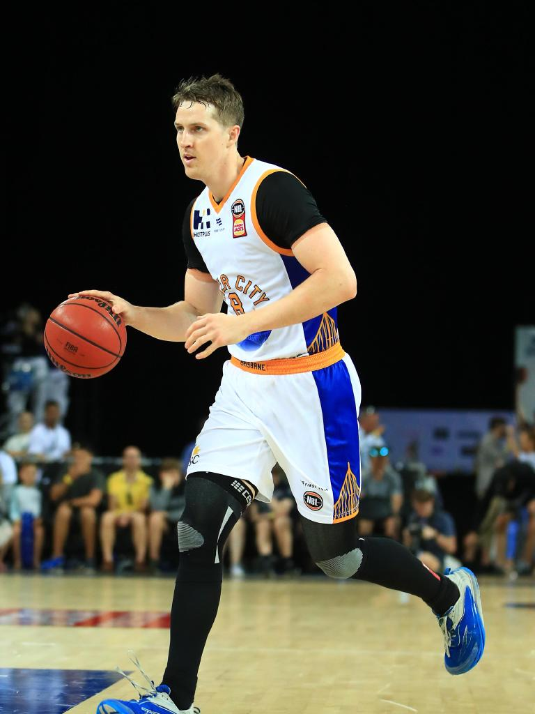 Cameron Bairstow in action for Brisbane against New Zealand last season.