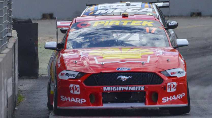 Scott McLaughlin wrapped up his 10th win with victory at Winton Raceway.