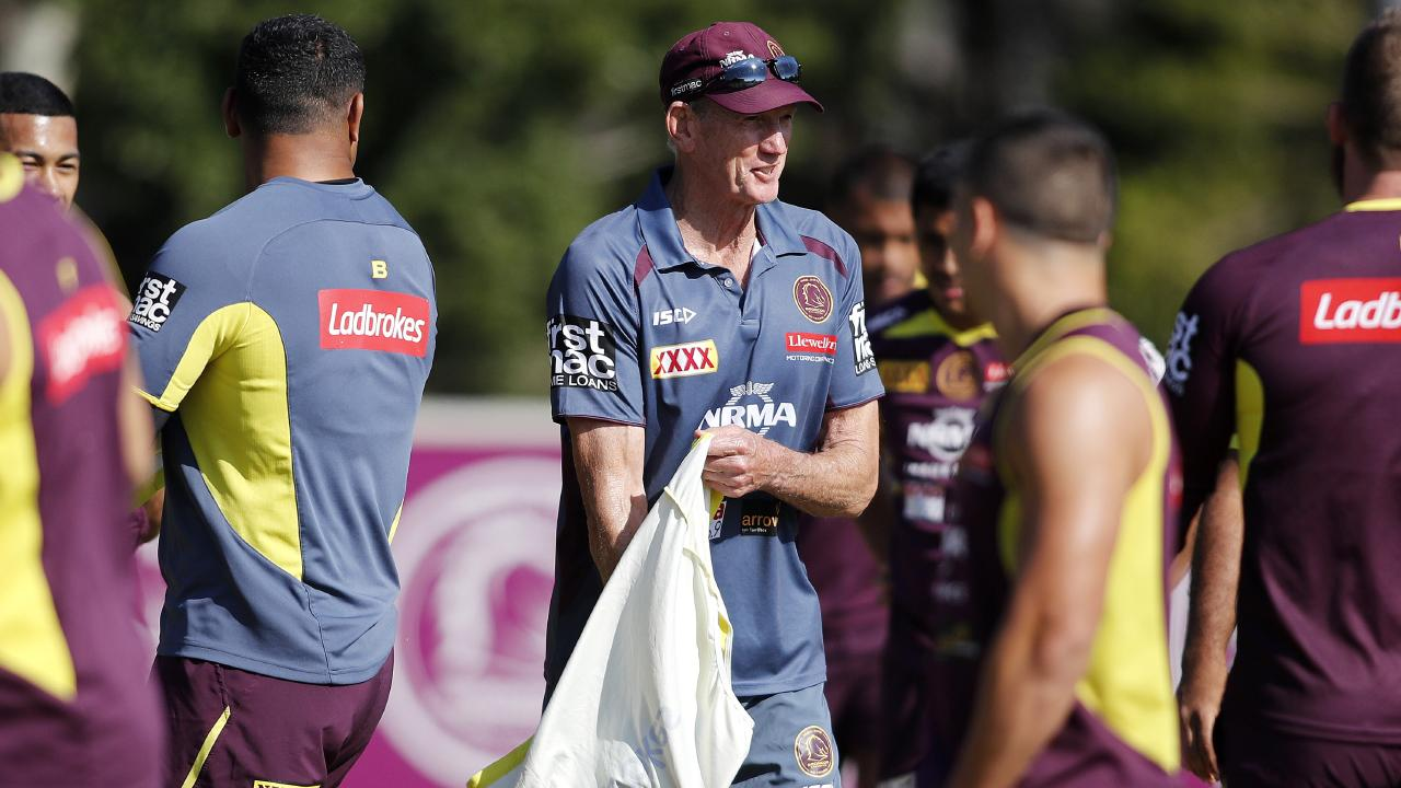Wayne Bennett's best pack, or just the youngest? Picture: AAP.
