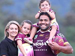 Thaiday: 'My baby nearly broke us'