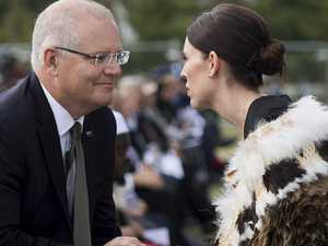 Morrison's awkward meeting with Ardern