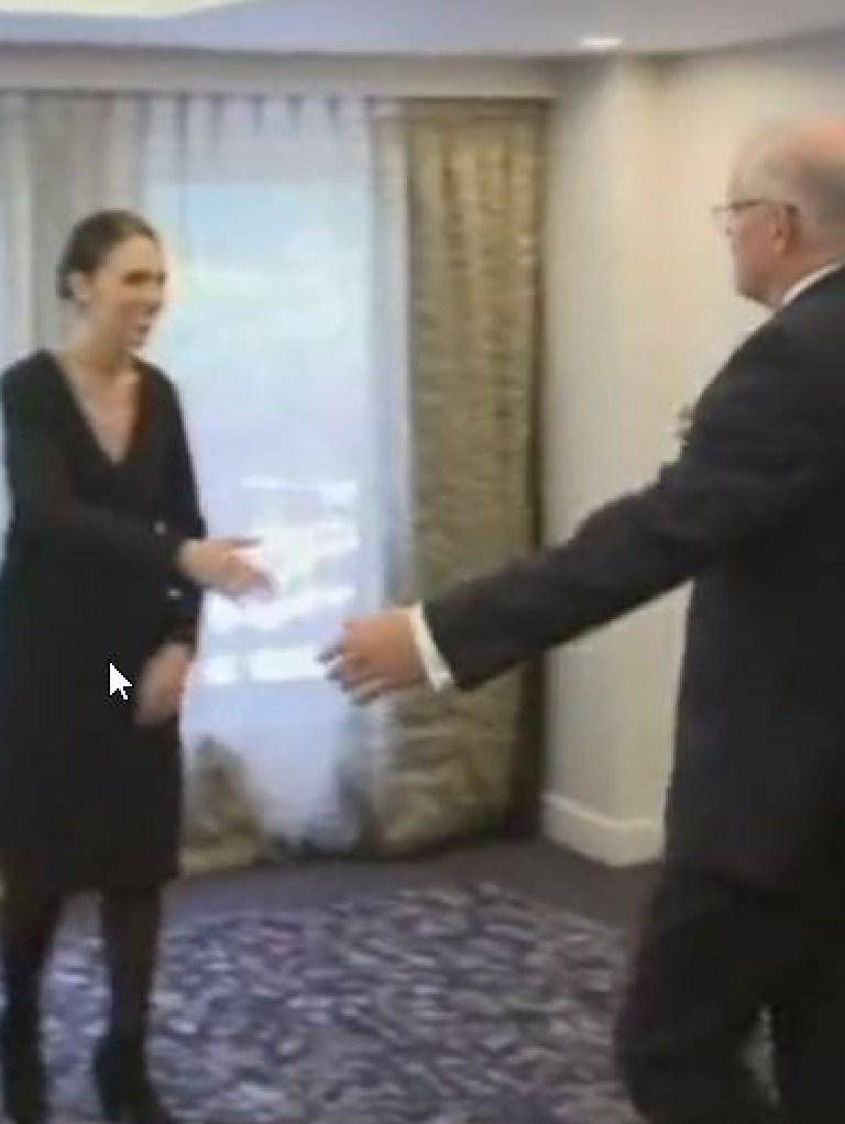 Handshake?