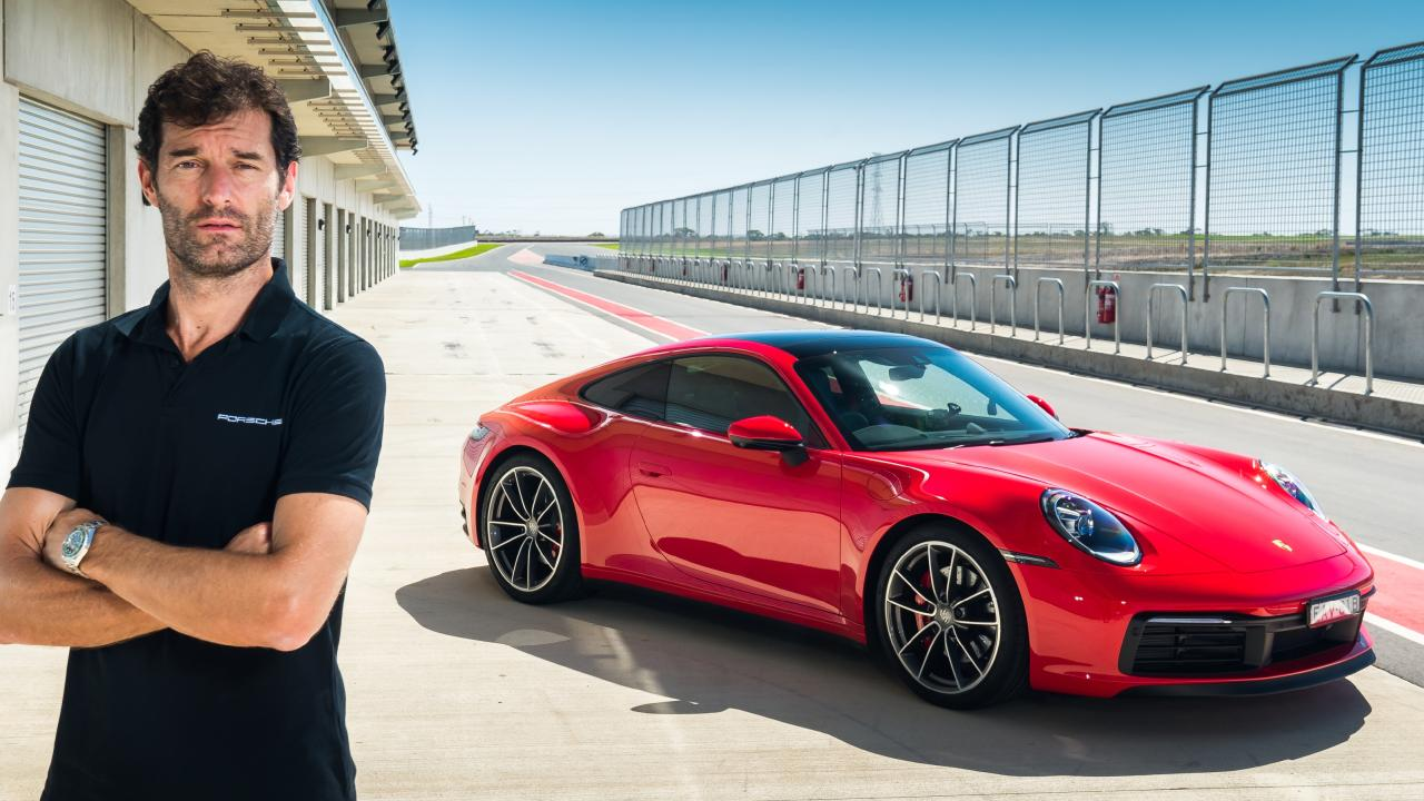 Mark Webber is unsurprisingly a big fan of Porsche.