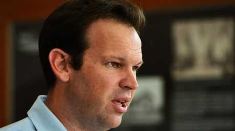 Liberal National Party Senator Matt Canavan. Picture: Zak Simmonds