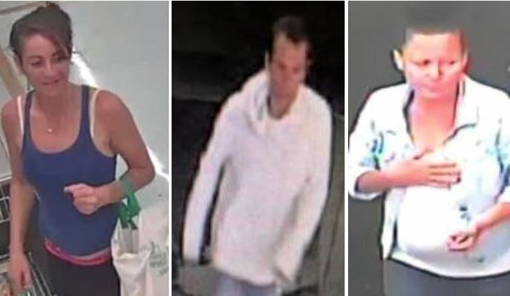 Police have released images of people linked to crimes committed on the Sunshine Coast.