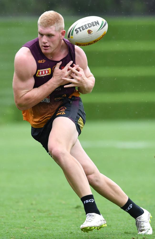 Thomas Flegler looks set for a spell from the Broncos. Picture: AAP Image/Darren England