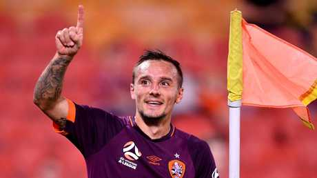 Bautheac could be another loss for the Roar. Image: AAP Image/Darren England