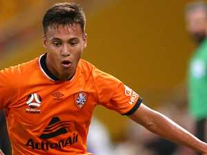 Roar rookie chases Glory move