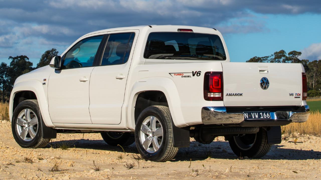 The Amarok V6 pumps out a hefty 550Nm.