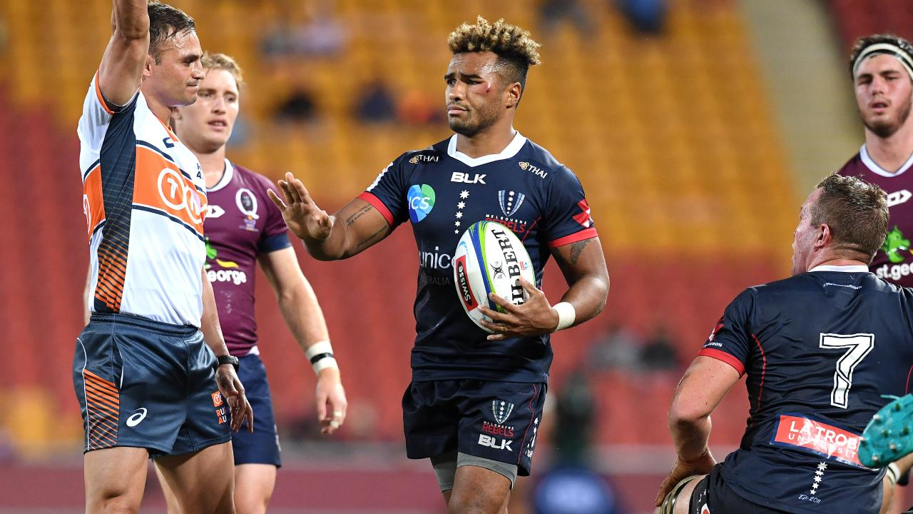 Rebels halfback Will Genia. Picture: AAP