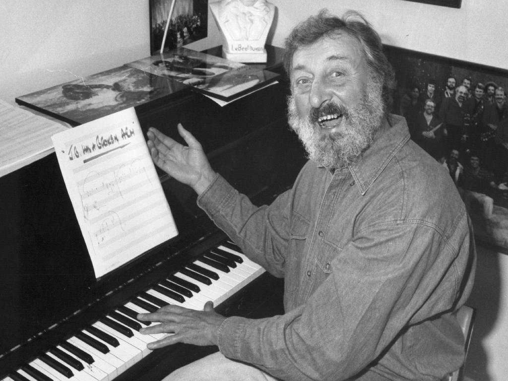 Musical director Geoff Harvey was a Nine legend.