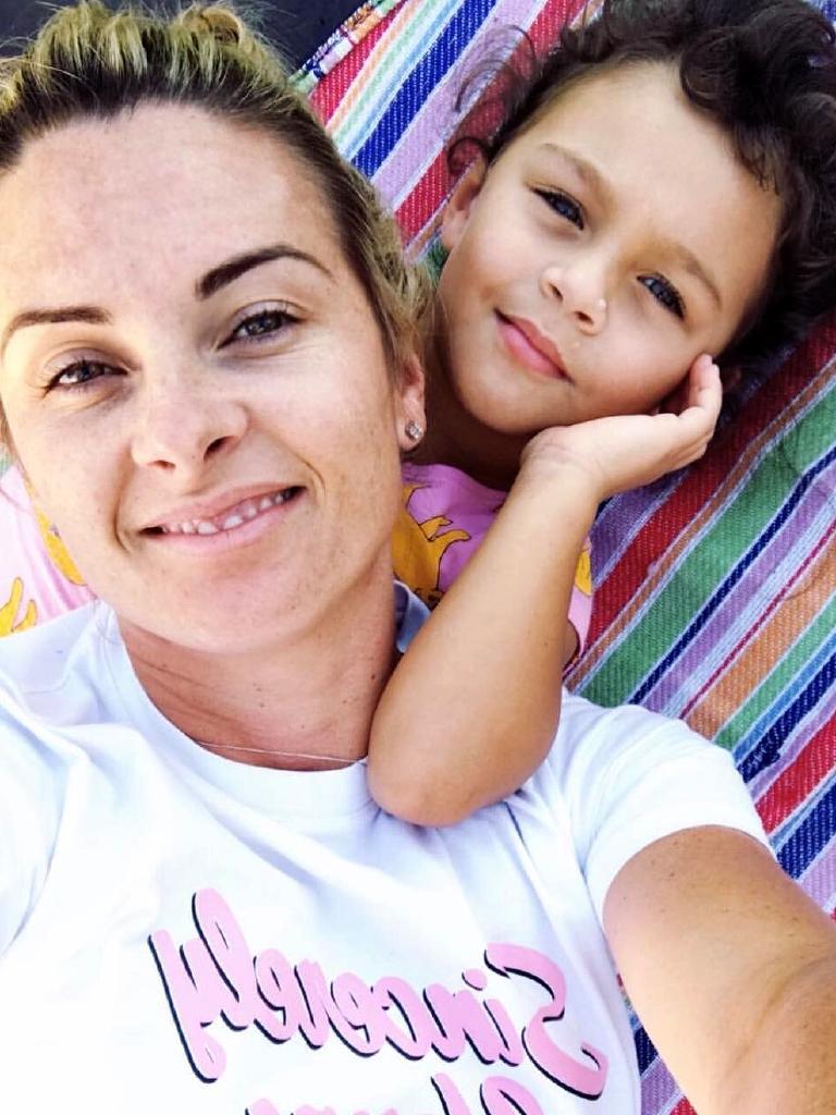 Rachel Thaiday with an older Ellsie (Instagram picture)