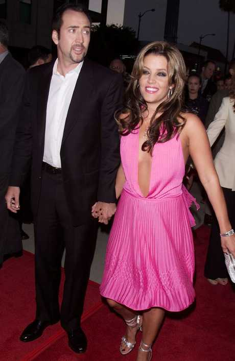 5d8761d7827d05 Nicolas Cage and Lisa Marie Presley were married in 2002. Picture  Kevin  Winter