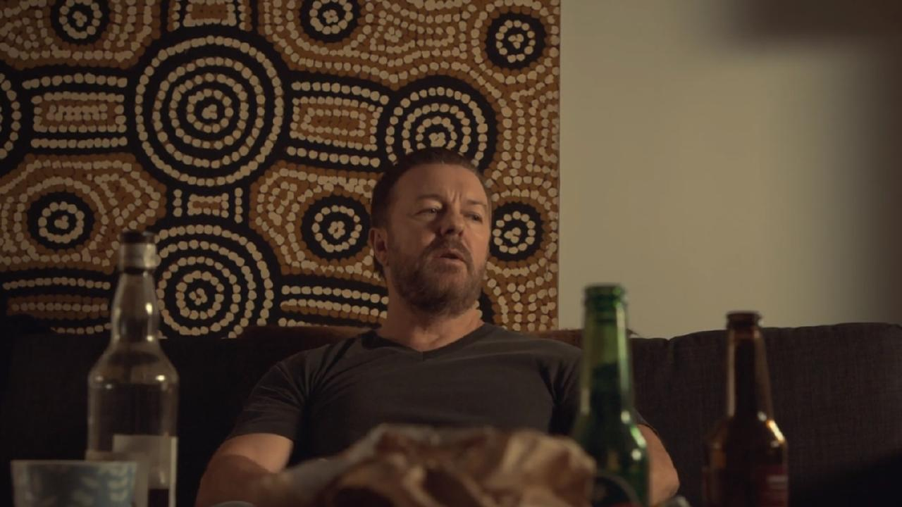 Ricky Gervais' character Tony in After Life nudges you to think of the things that keep you going. Picture: Netflix