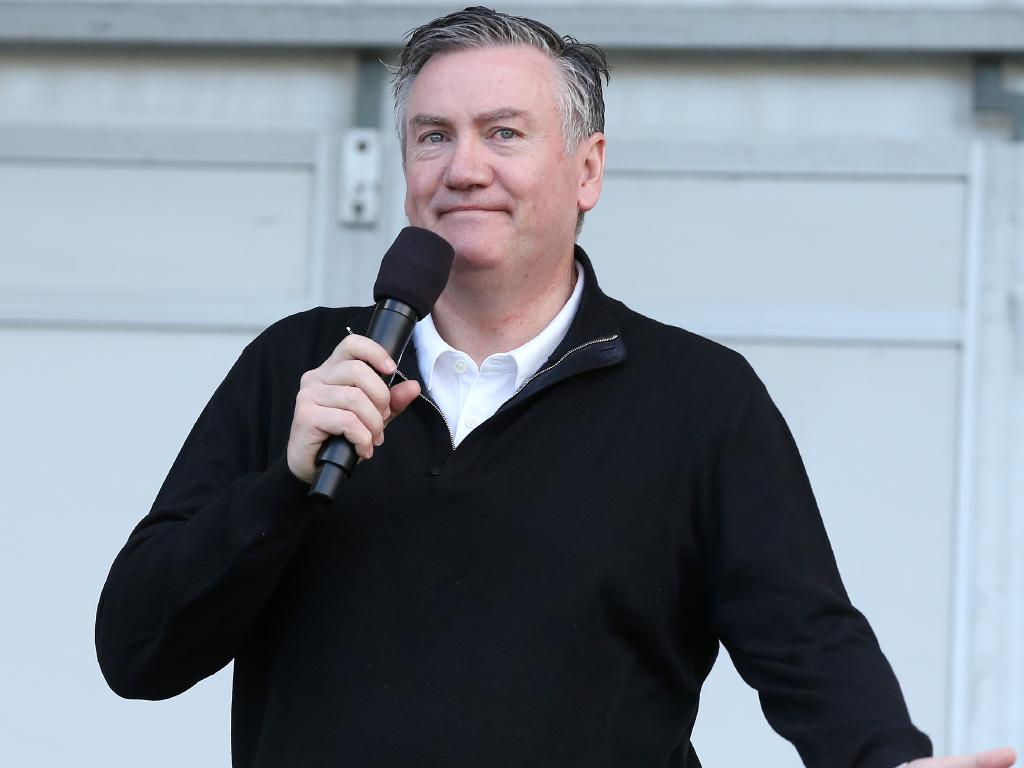 Eddie McGuire's TV career spans more than 30 years.