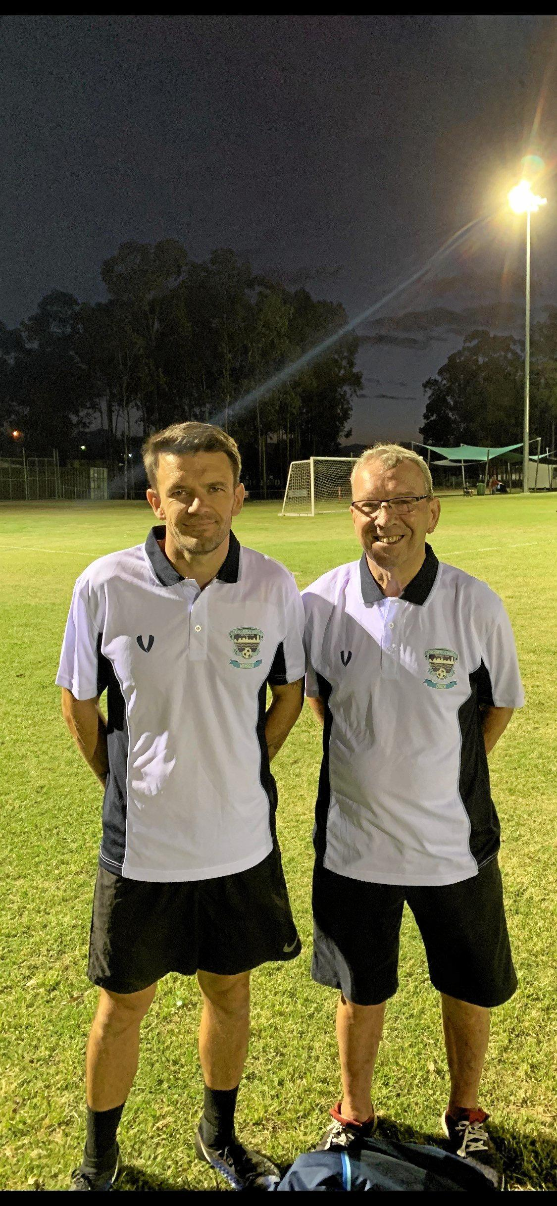 Springfield United coaches Michael Keating and Alex Smith have added international experience to this year's Capital League 3 side.