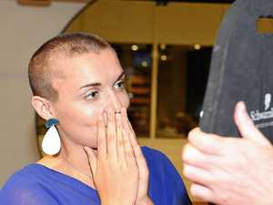 Chronicle journalist Jess braves the shave for good cause