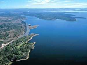 Council about to turn on Wivenhoe Dam pipeline