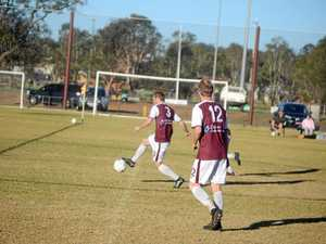 Warwick player scores one goal in each half in Toowoomba