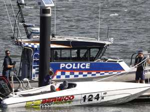 Water skier critical after crash