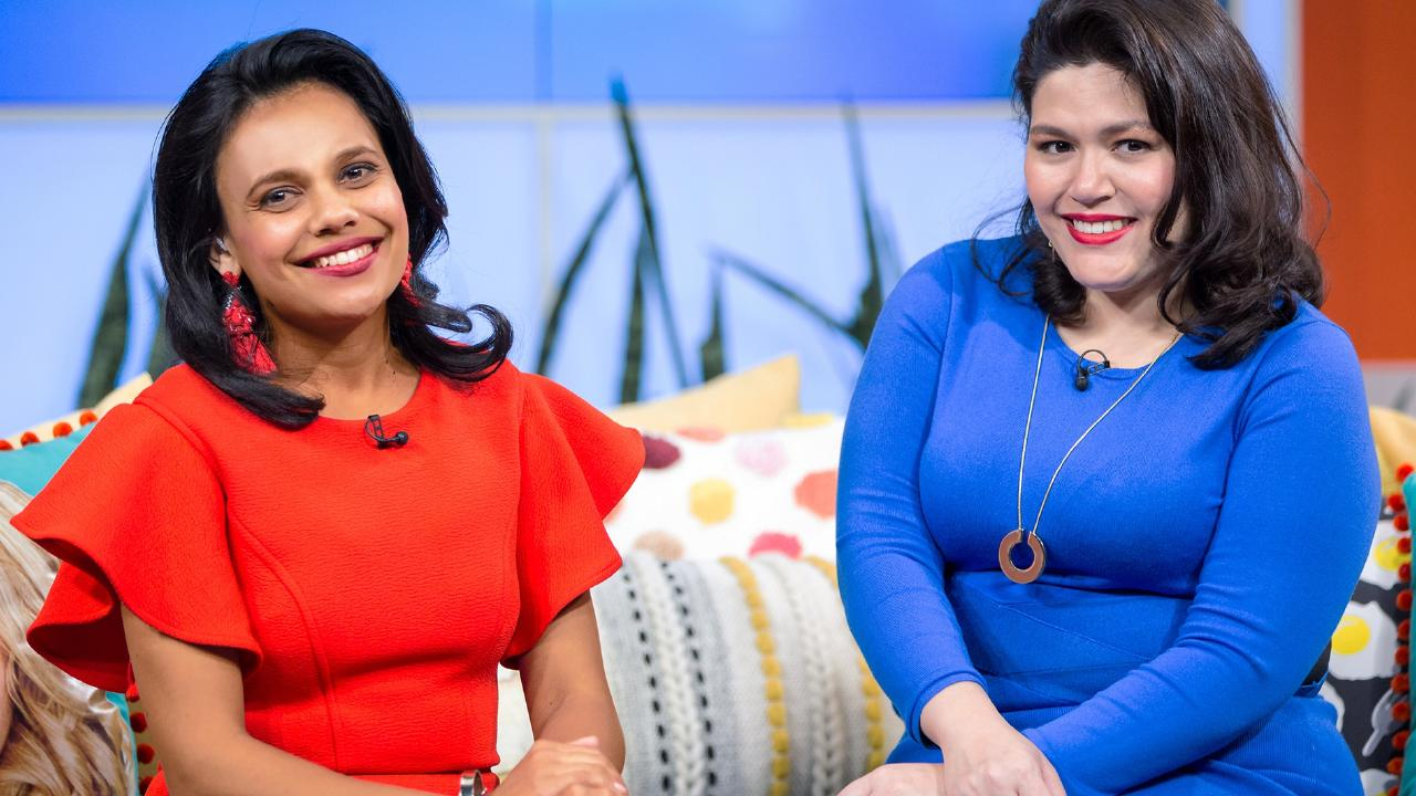 Aboriginal actors Miranda Tapsell and Nakkiah Lui hosted the last episode of Get Krack!n.