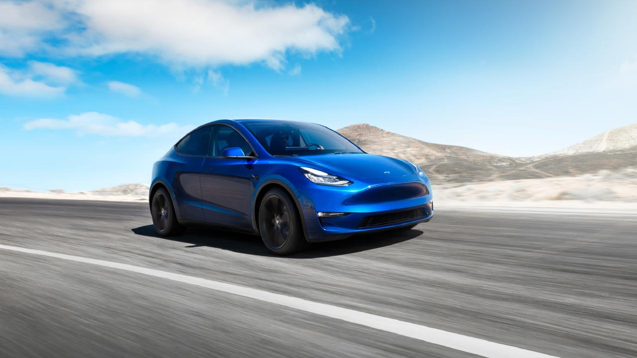 A Tesla Model Y … Labor's National Electric Vehicle policy will need federally-funded road upgrades to have electric vehicle charging infrastructure.