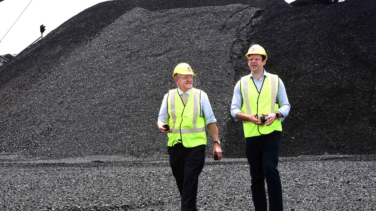 QRC CEO Ian Macfarlane and Resources Minister Matt Canavan expect coal to help deliver more jobs to struggling parts of Queensland.