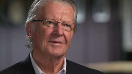 Former homicide Detective Clive Small worked on the Milat case. Picture: Channel 9 / 60 Minutes