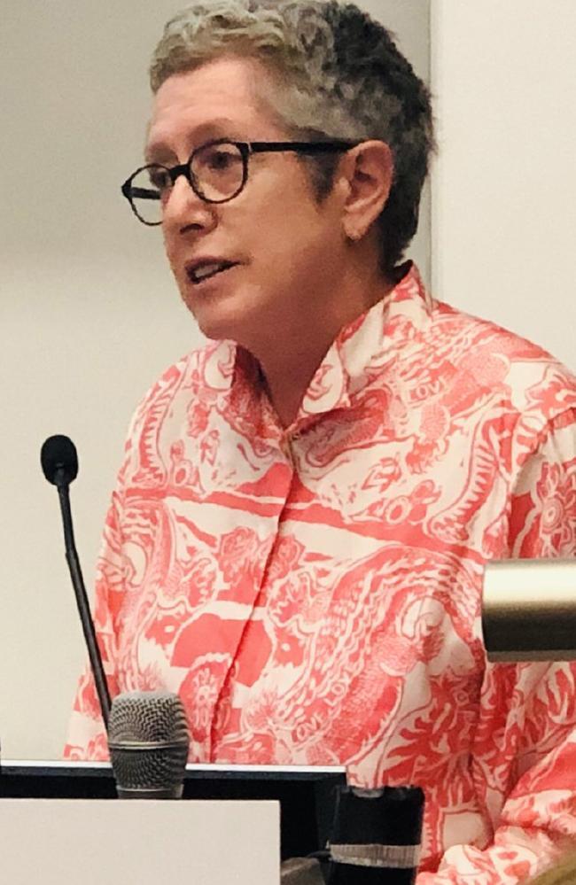 Professor Debra Hayes. Picture: Twitter
