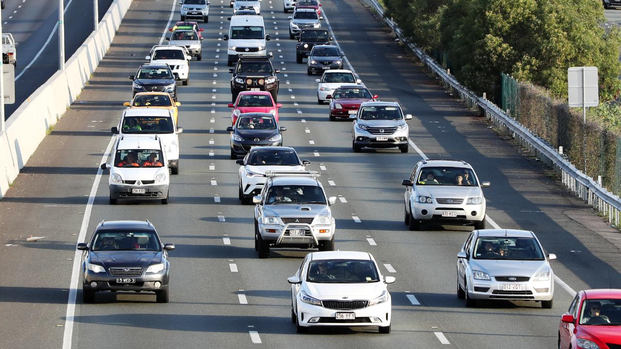 $500 million will be committed to upgrade the M1 between Daisy Hill and the Logan Motorway. Picture: Nigel Hallett