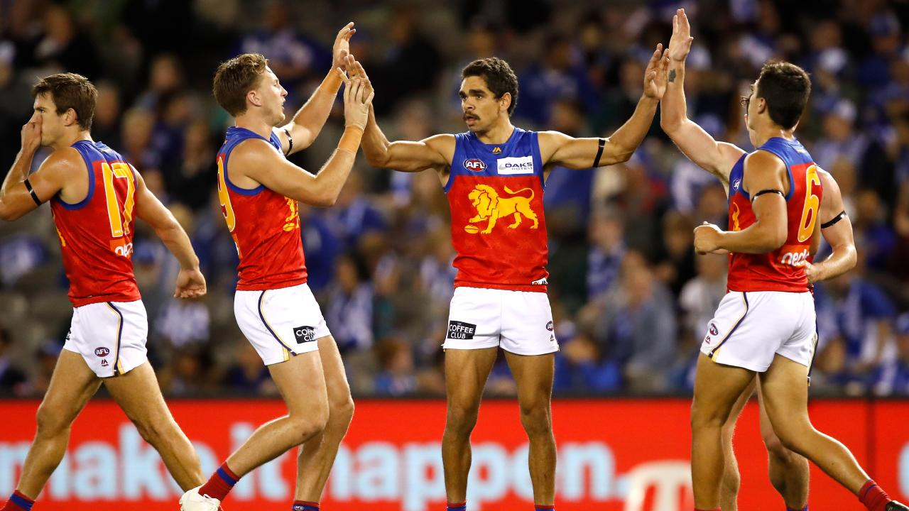 Charlie Cameron is putting his hand up early for an All Australian guernsey. Picture: Getty Images