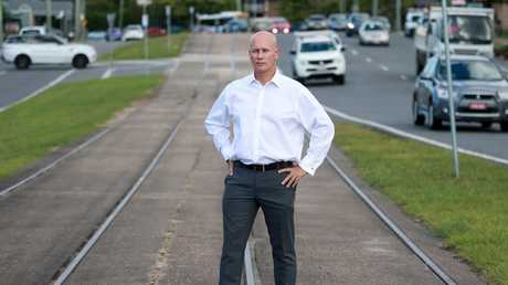 """Shadow Transport Minister Steve Minnikin says the Premier probably """"has absolutely no idea"""" to fix the rail fails. Picture: AAP/Sarah Marshall"""