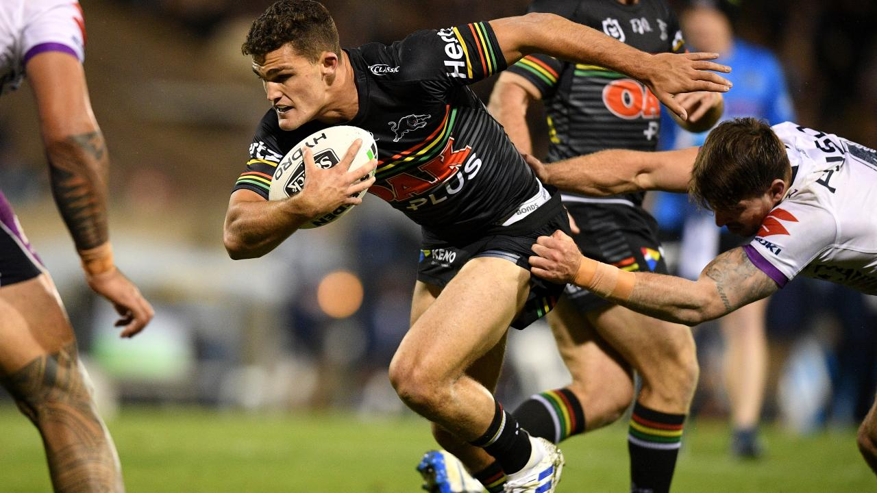 Nathan Cleary is staying off social media this week. Picture: AAP