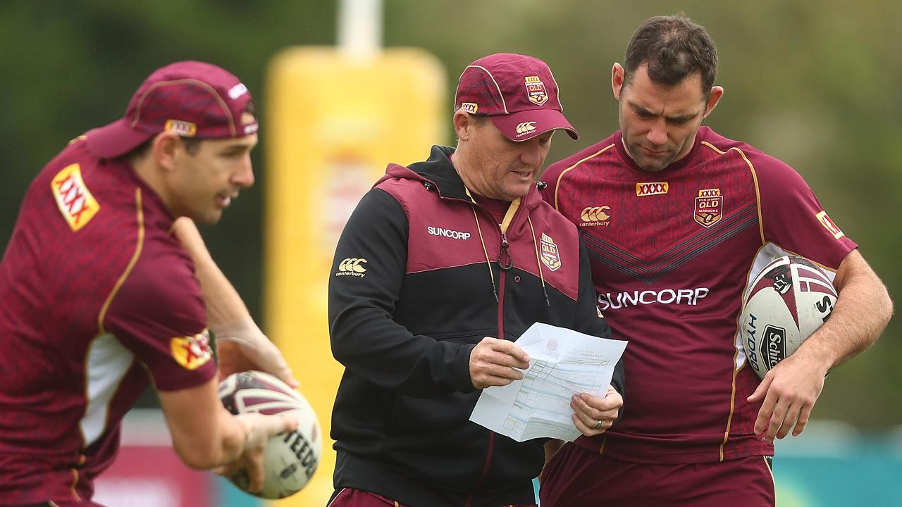 Smith says he would be happy to assist Kevin Walters and the Maroons in a mentoring role. Picture: Chris Hyde/Getty Images