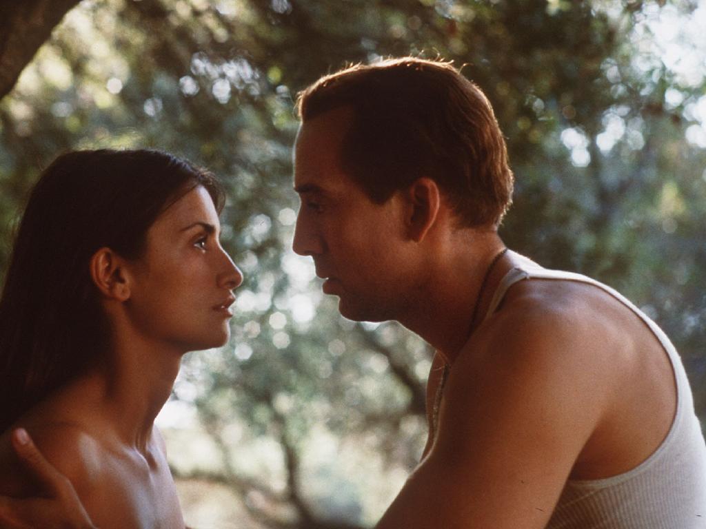 Cage flopped in 2001 literary adaptation Captain Corelli's Mandolin