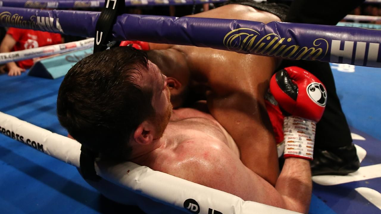 Kash Ali left the ring in disgrace.