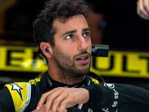Ricciardo makes early exit as rookie rocks F1