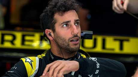 Ricciardo failed to finish in Bahrain.