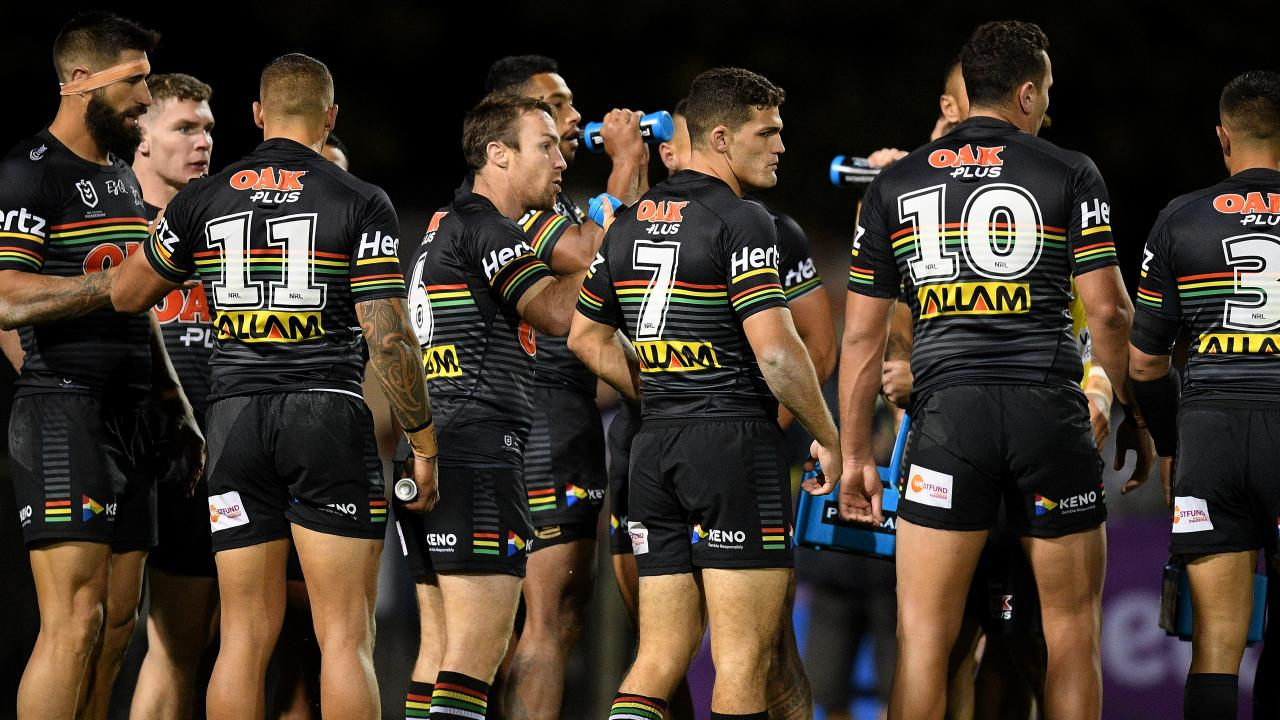 The Panthers have won just one of their opening three matches. Picture: AAP