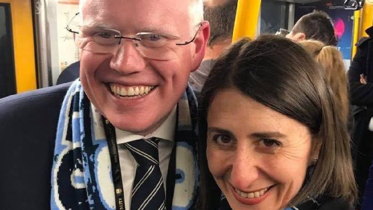 Gareth Ward has been elevated to Cabinet with a new portfolio. He has been vital to Premier Gladys Berejiklian's re-election campaign. Picture: Facebook