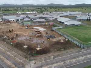 Aerial view of Capricornia Correctional Centre expansion
