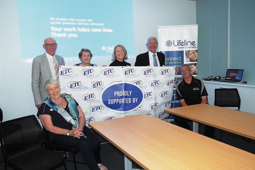 Lifeline used funding from ETC to go towards volunteer training facilities as part of their new building.