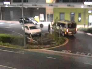 CCTV reveals moment stabbing victim dumped at hospital