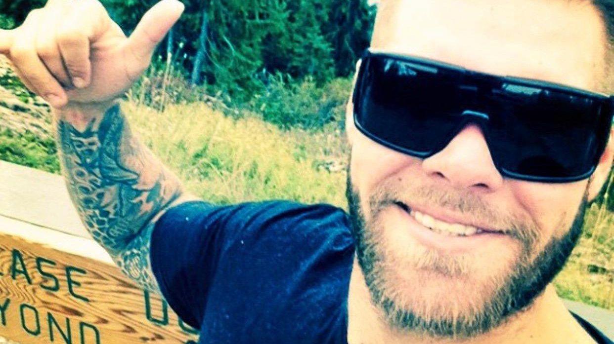 Erran Braddick was injured in a motorcyle crash in Bali.
