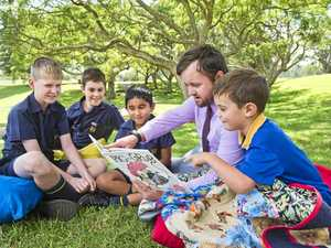 Toowoomba school turns new page for Read to Me Day