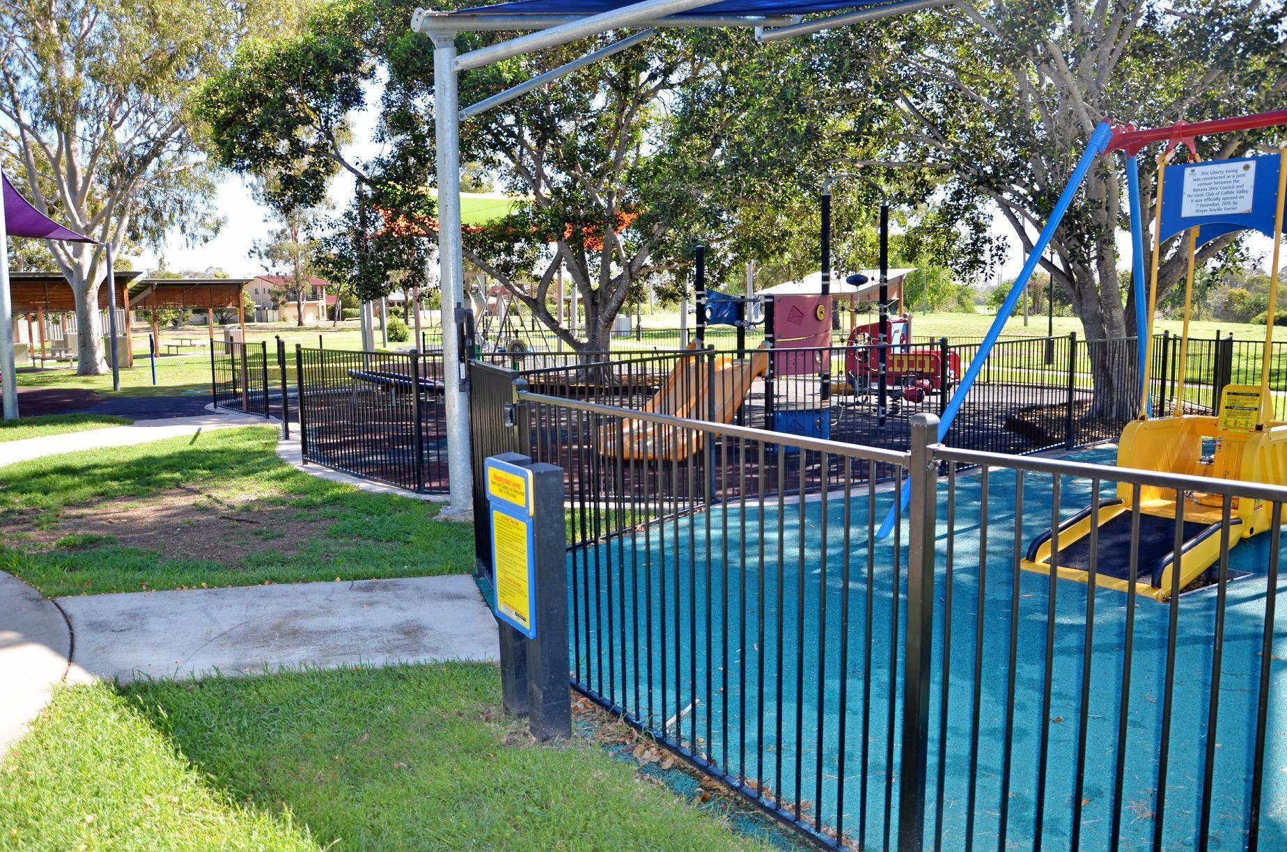 UNDER REPAIRS: The Biloela Lions Park will be going through repairs over the next three days.
