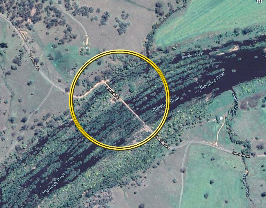 A single-vehicle incident has occurred near Baryulgil