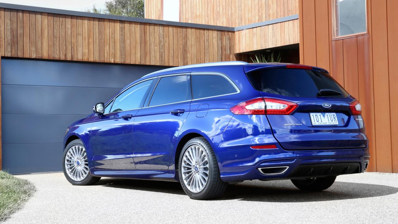 Ford Mondeo wagon: Underrated but boot is no match for the previous Commodore